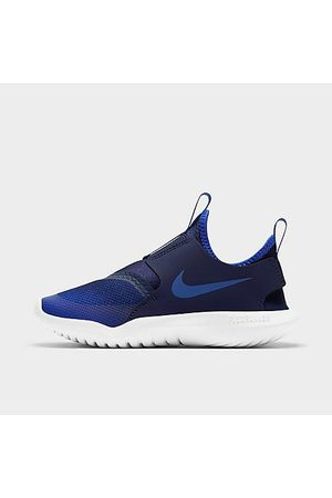 Nike Boys Shoes - Boys' Little Kids' Flex Runner Running Shoes in /Game Royal Size 1.0 Leather