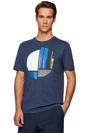 HUGO BOSS Men T-shirts - Tee L Black