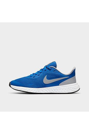 Nike Boys Shoes - Boys' Big Kids' Revolution 5 Running Shoes in /Game Royal Size 3.5