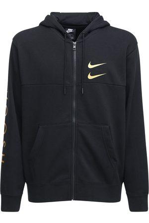 Nike Nsw Swoosh Cotton Blend Zip-up Hoodie