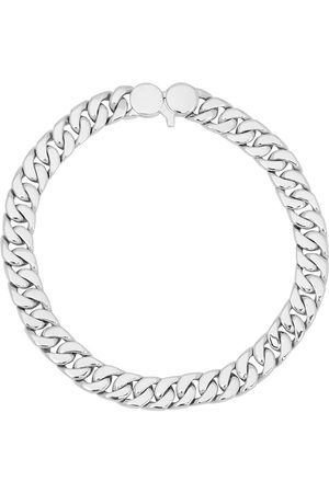 TOM WOOD Men Bracelets - Curb 7 sterling chain bracelet