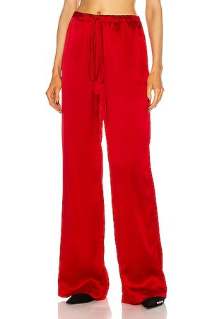 LAQUAN SMITH For FWRD Full Length Wide Leg Pant in