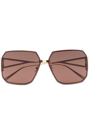 Bottega Veneta BV1085SA square-frame sunglasses