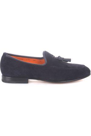 santoni Men Loafers - Loafers Men Camoscio