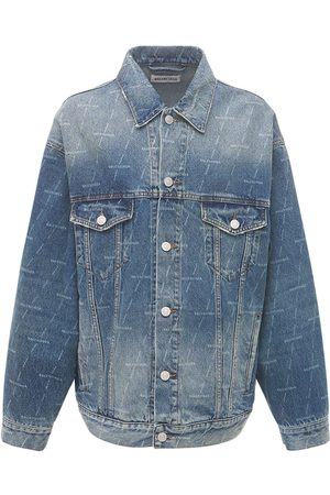 Balenciaga Organic Cotton Denim Over Jacket