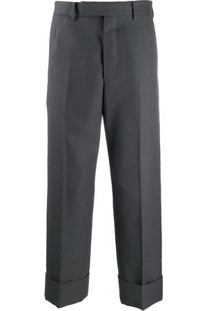 Thom Browne Hopsack school uniform trousers - Grey