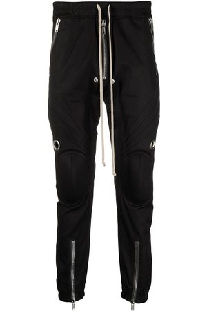 Rick Owens Biker-style track pants
