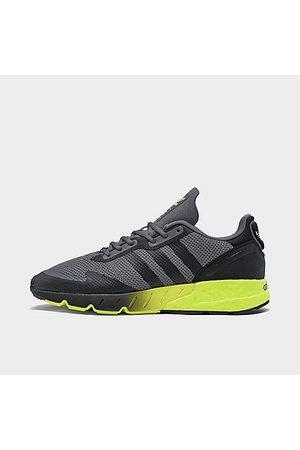 adidas Men's Originals ZX 1K BOOST Casual Shoes in Grey/Grey Size 12.0