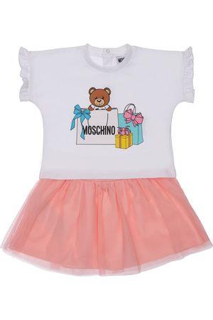 Moschino Cotton Jersey T-shirt & Skirt