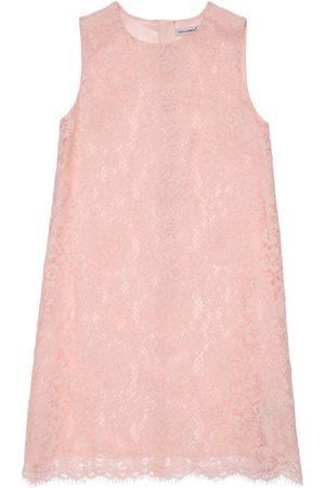 Dolce & Gabbana Girls Dresses - Sleeveless Lace Dress