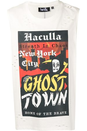 HACULLA Ghost Town sleeveless T-shirt