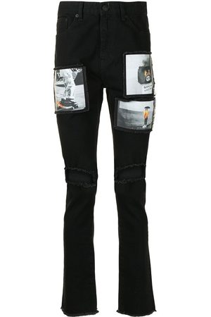 HACULLA Ripped patch-detail jeans