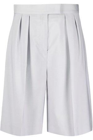 Msgm Tailored knee-length shorts - Grey