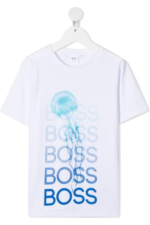 HUGO BOSS Logo-print cotton T-Shirt