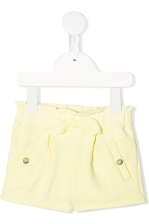Chloé Ruched knitted shorts