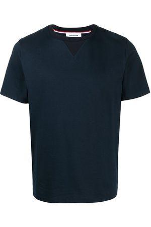 Thom Browne RWB tipping stripe short-sleeve T-shirt