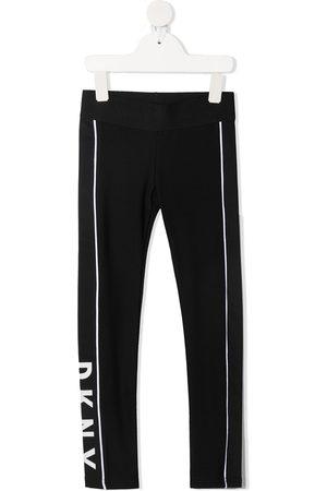 DKNY Girls Leggings - Logo-print leggings