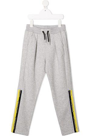 Givenchy Logo ban joggers - Grey