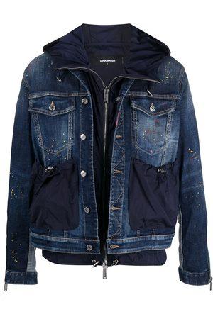 Dsquared2 Layered denim jacket