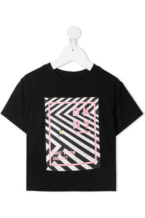 DKNY Logo-print cotton T-shirt