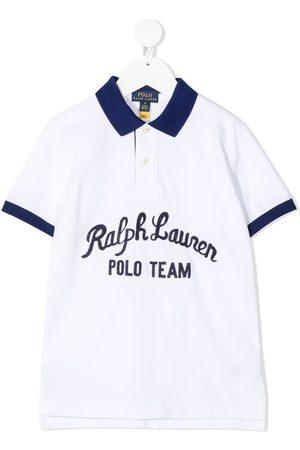 Ralph Lauren Polo Team Cotton Mesh Polo Shirt