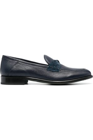 Etro Men Loafers - Slip-on leather loafers