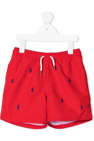 Ralph Lauren Logo print swim shorts