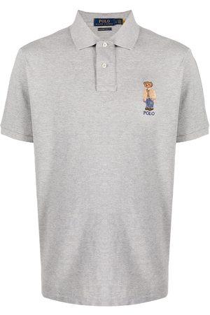 Polo Ralph Lauren Teddy bear-print polo shirt - Grey