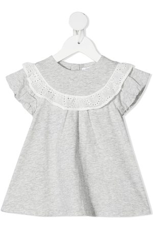 Chloé Lace detail dress - Grey