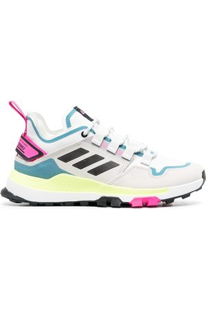 adidas Multi-panel neon trainers