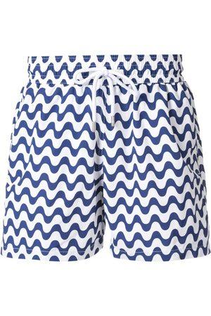 Frescobol Carioca Patterned swim shorts