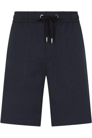 Dolce & Gabbana Logo-patch drawstring shorts