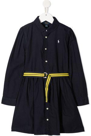 Ralph Lauren Polo Pony embroidered shirt dress
