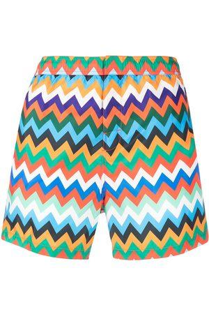 Missoni Zig-zag print swimming shorts