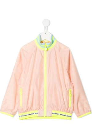 Stella McCartney Logo-print bomber jacket