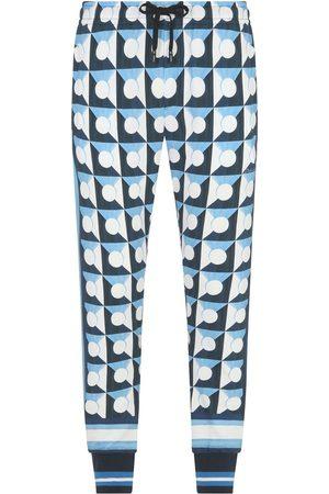 Dolce & Gabbana Majolica-print DG-patch track pants