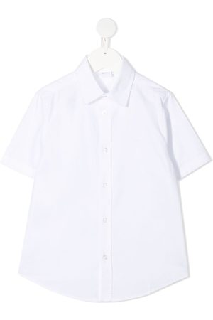 HUGO BOSS Short-sleeve cotton shirt