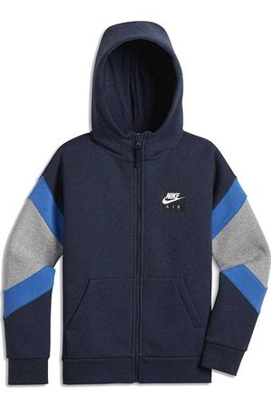 Nike Boys Hoodies - Air XS Obsidian Heather / Dark Grey Heather