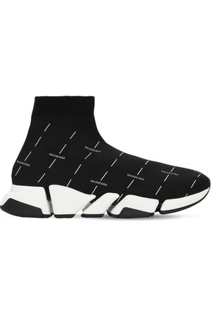 Balenciaga Speed 2.0 Low-top Knit Sneakers