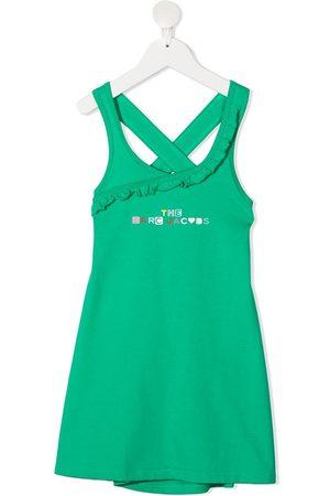 The Marc Jacobs Sleeveless logo-print dress