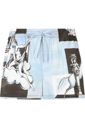 Dolce & Gabbana Graphic-print shorts