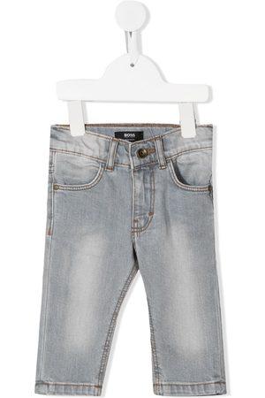 HUGO BOSS Slim - Mid-rise slim-cut jeans