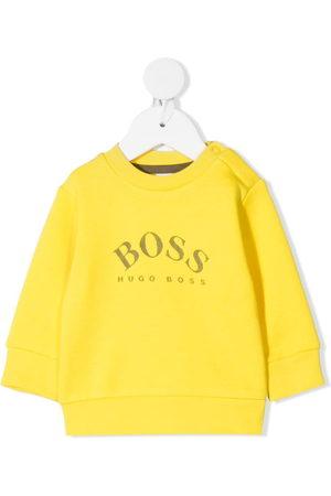 HUGO BOSS Logo-print long-sleeve sweatshirt