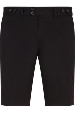 Dolce & Gabbana DG-logo patch tailored shorts
