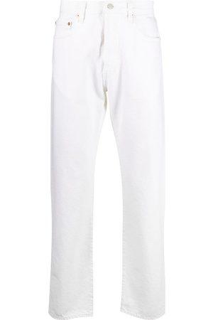 Levi's Mid-rise straight leg jeans - Neutrals
