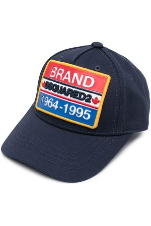 Dsquared2 Embroidered logo-patch cap