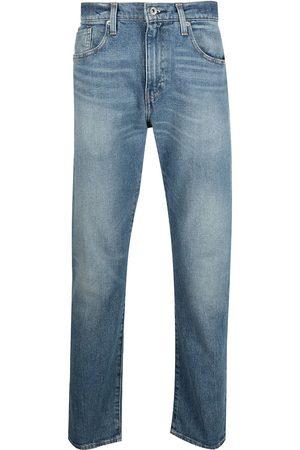 Levi's Mid-rise straight leg jeans