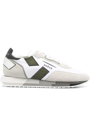 Ghoud Colour-block lace-up trainers