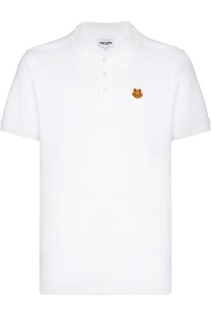 Kenzo Tiger Crest short-sleeve polo shirt