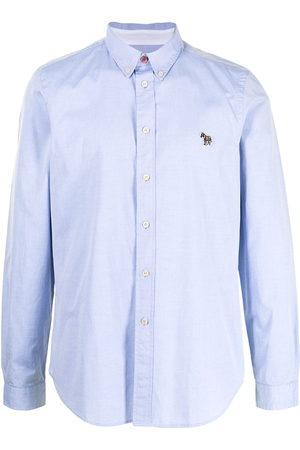 Paul Smith Zebra patch cotton shirt